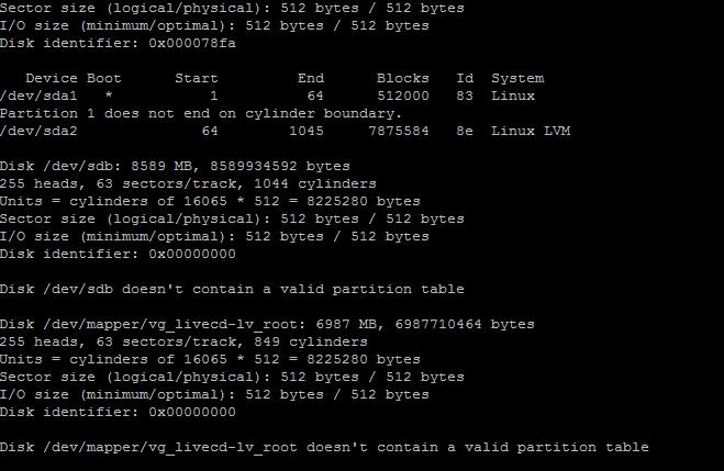 linux基础教程-硬盘分区